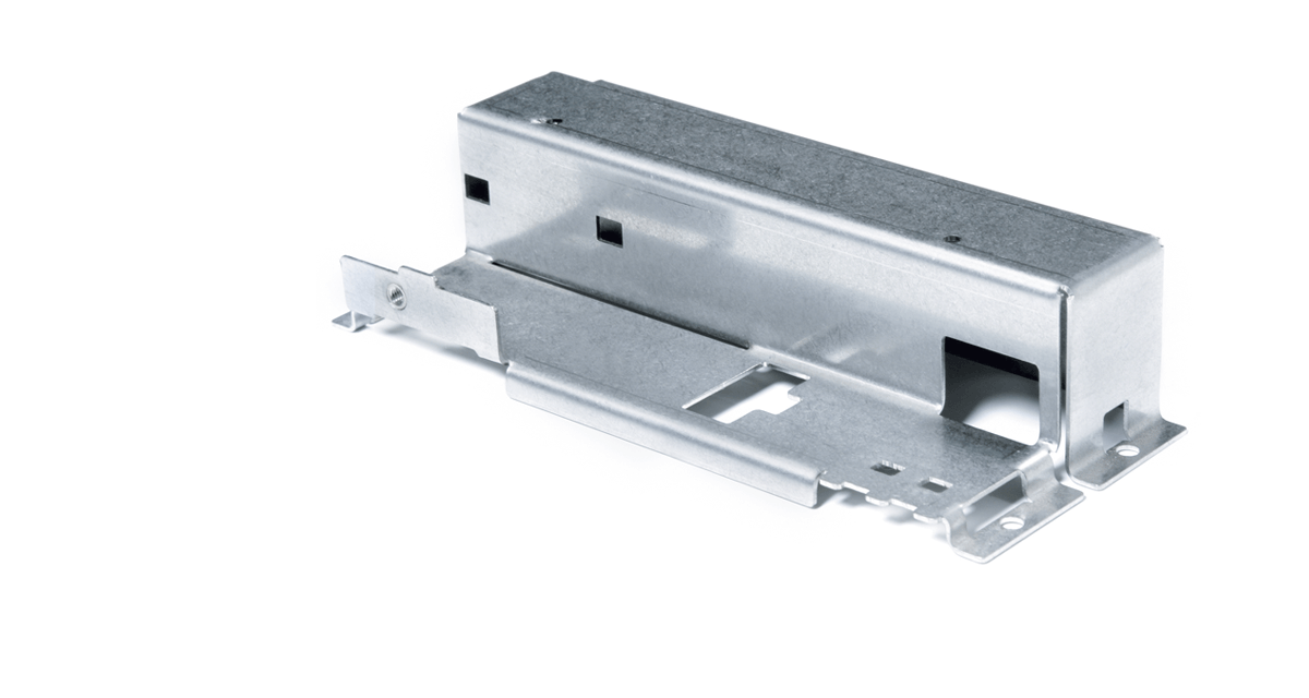Stainless steel housing for data transmission systems